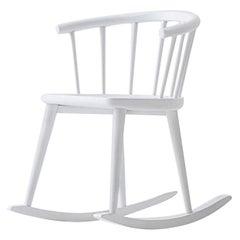 W. White Rocking Chair by Fabrizio Gallinaro