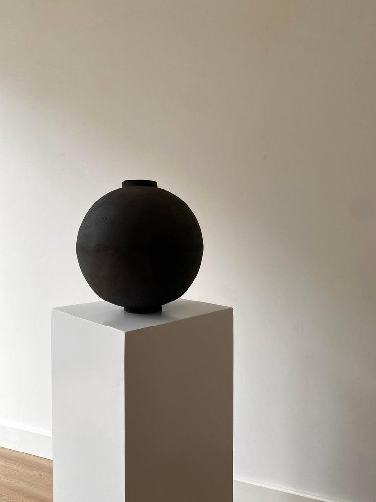 Modern Wabi Moon Jar by Laura Pasquino For Sale