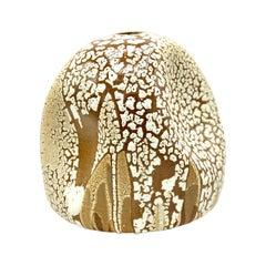 Wabi Sabi Ceramic Vase, Interior Sculpture, Handmade Contemporary Texture Vessel