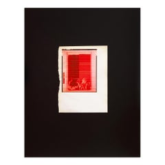 Red Fire for SMC, Contemporary Art, Abstract Art