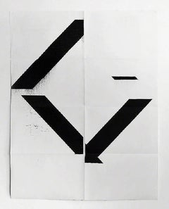X Poster (Untitled, 2007, Epson UltraChrome inkjet on linen, 84 x 69 inches, WG1
