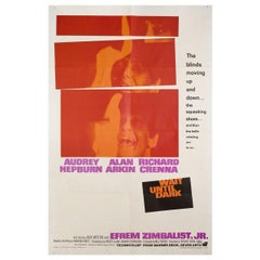 Wait Until Dark 1967 US One Sheet Film Poster