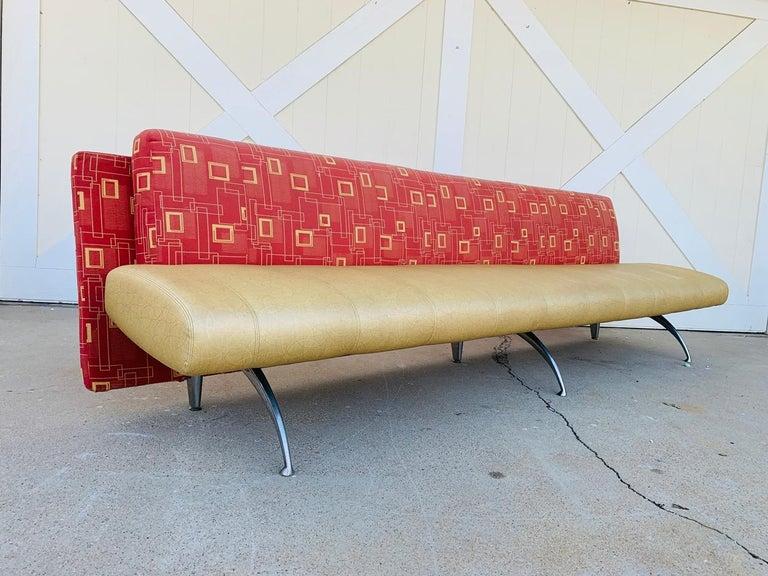 Contemporary Waiting Sofa by Rodolfo Dordoni for Moroso For Sale