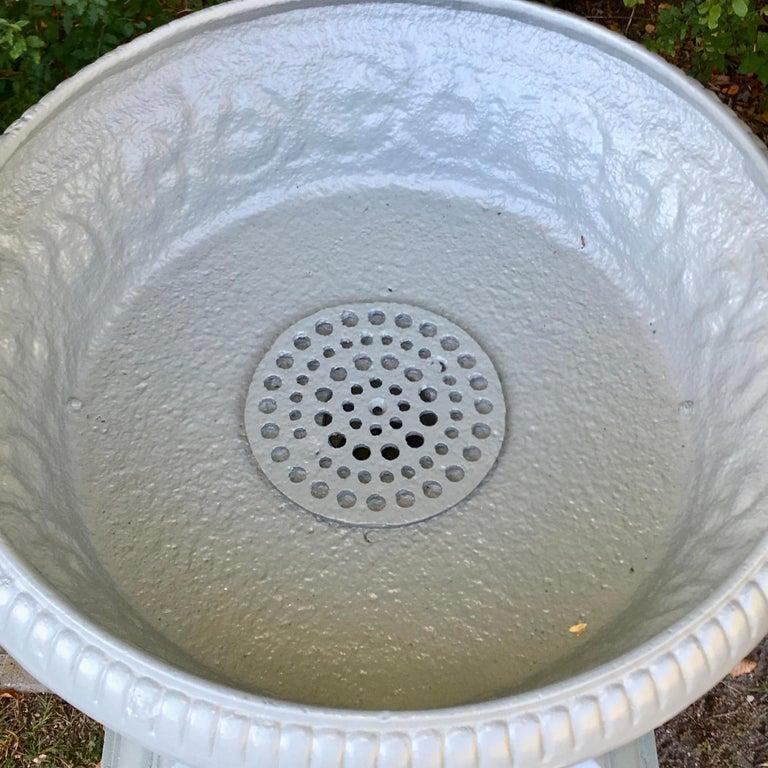 Walbridge & Co. of Buffalo Cast Iron Fountain Urn For Sale 4