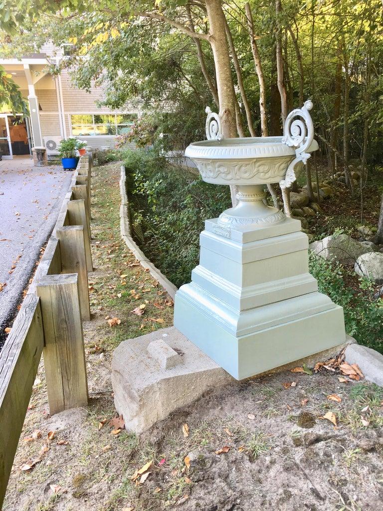 Walbridge & Co. of Buffalo Cast Iron Fountain Urn For Sale 7