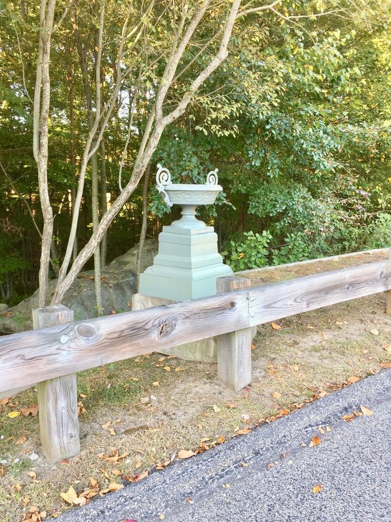 Walbridge & Co. of Buffalo Cast Iron Fountain Urn For Sale 1