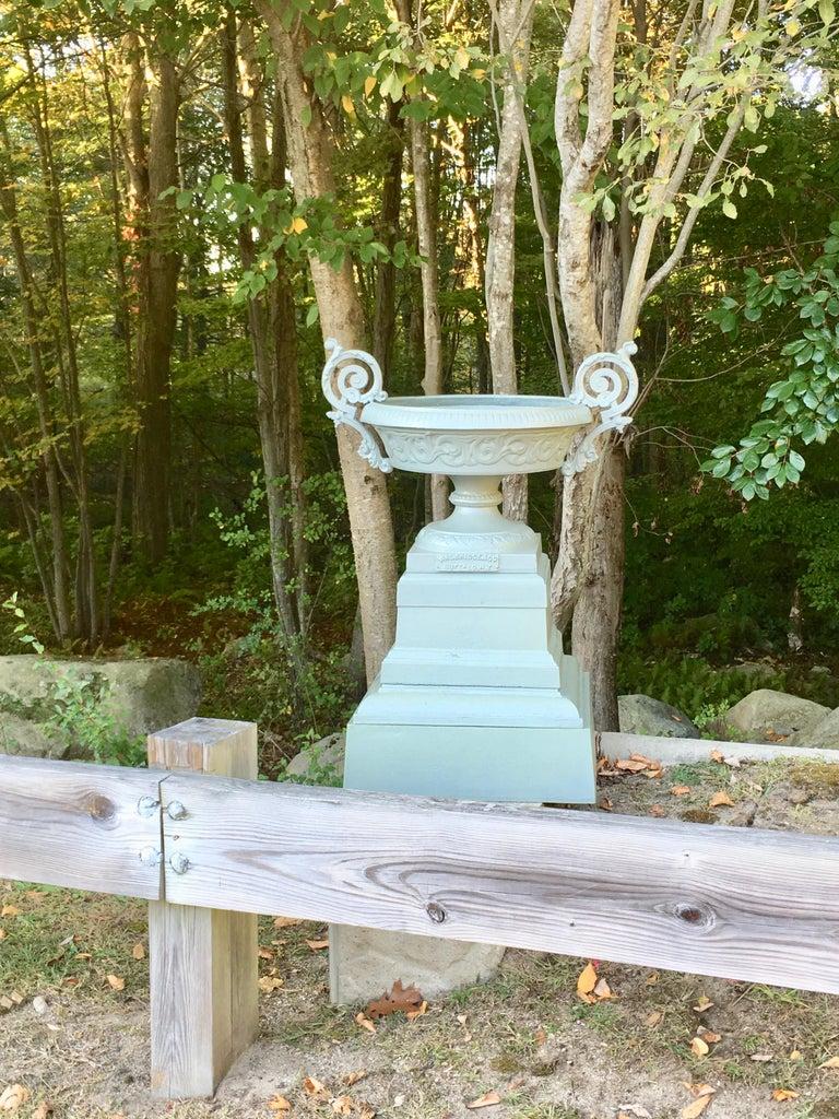 Walbridge & Co. of Buffalo Cast Iron Fountain Urn For Sale 2