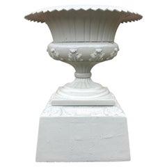Walbridge of Buffalo Cast Iron Reservoir Vase