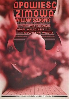 Theatre Im. Juliusza of Krakovia - Vintage Poster by Mieczysław Górowski - 1975