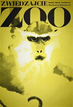 Zoo - Vintage Poster by Waldemar Swierzy - 1974