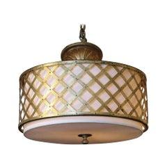 Waldorf Astoria Mid-Century Modern Pendant Light from the Elizabeth Taylor Suite