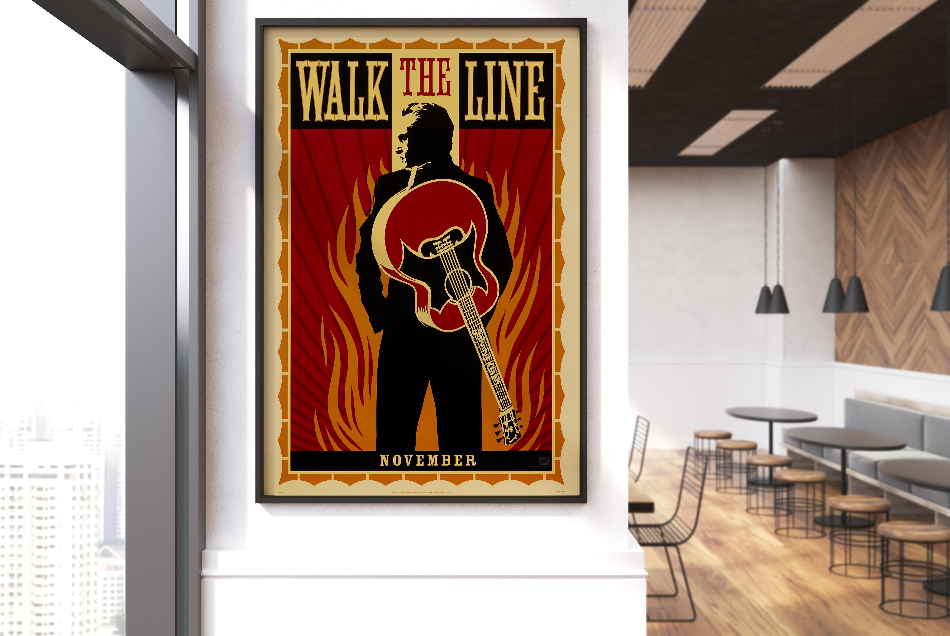 Reese Witherspoon Wall Print POSTER Affiche 68686 Walk the Line Joaquin Phoenix