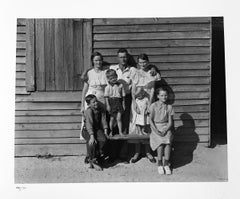Burroughs Family, Hale County, Alabama, 1936, by Walker Evans, gelatin silver