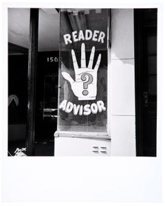 Palmistry Sign, Third Avenue, New York City, 1962