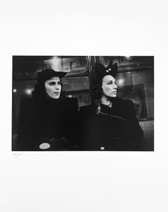 Two Women on the Subway, New York City, c. 1938-41, by Walker Evans