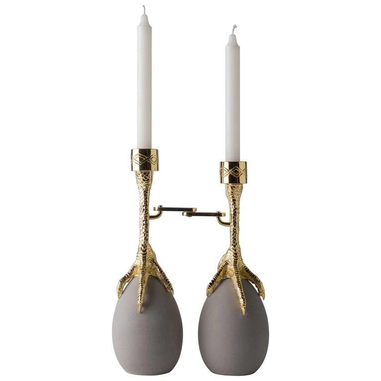 Walking Hen Candleholder For Sale