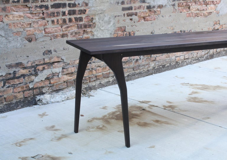 Contemporary Walking Table Handmade Customizable Console Table or Desk by Laylo Studio For Sale