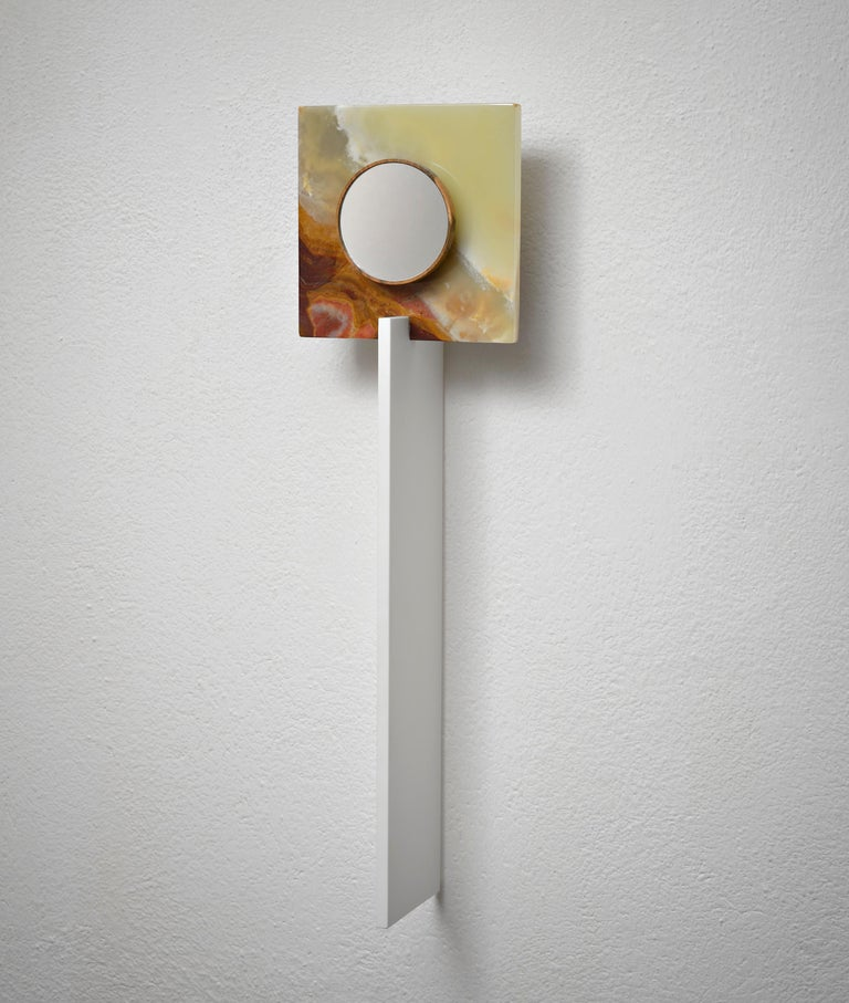Contemporary Wall Architecture Light Catcher by Kaaron For Sale