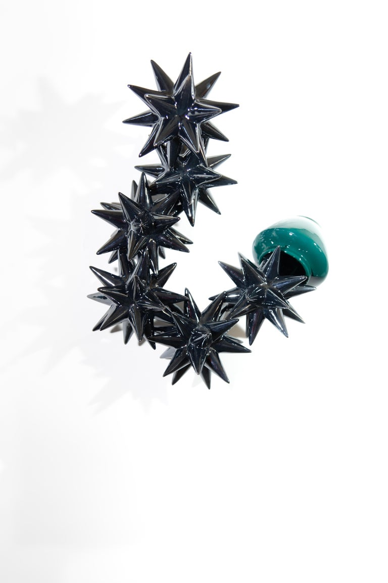 Wall Ceramic Sculpture by Andrea Salvatori Italy Contemporary, 21st Century In New Condition For Sale In London, GB