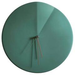 Wall Clock 'Oree' by Ocrùm 'Green Ceramic'