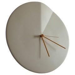 Wall Clock 'Oree' by Ocrùm 'White Ceramic'