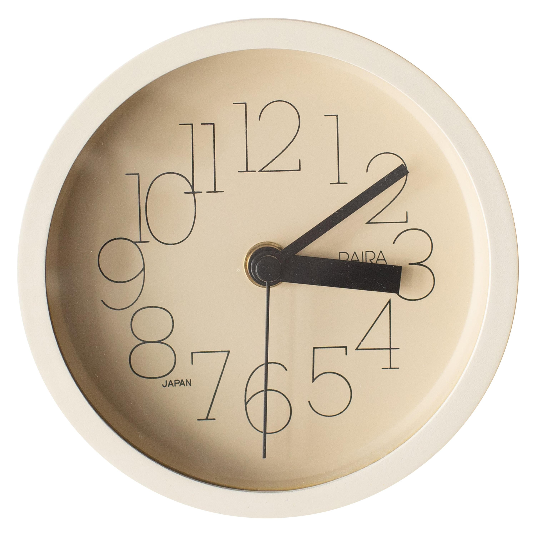 Wall Clock Shohei Mihara Wakita Superpresent Postmodern, 1980s