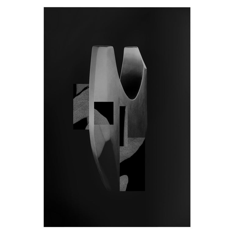 Wall Decorations by Todomuta Studio Aluminum Black and Silver For Sale