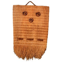 Wall Hanging Indian Weaved Bag Native American Decoration