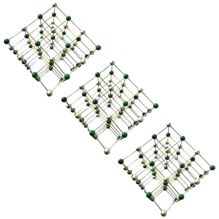 Wall Hanging Made of Molecule Models In Good Condition For Sale In New York, NY