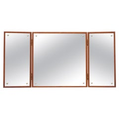Wall-Hung Mirror by Peter Hvidt & Orla Mølgaard