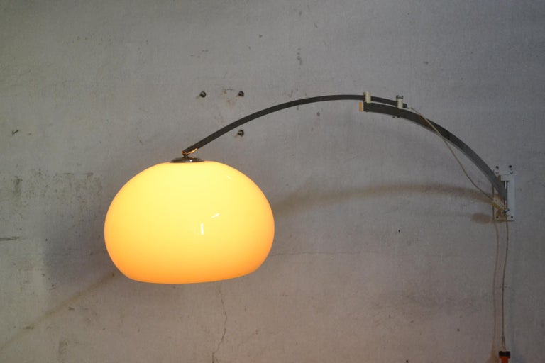 Wall Lamp by Goffredo Reggiani, 1960s In Good Condition In Mazowieckie, PL