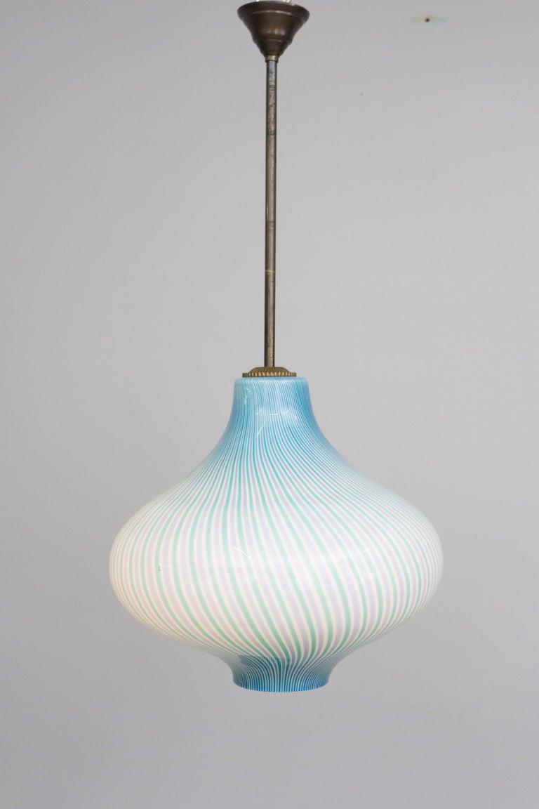 Italian Wall Lamp by Venini / Massimo Vignelli, 1950 For Sale