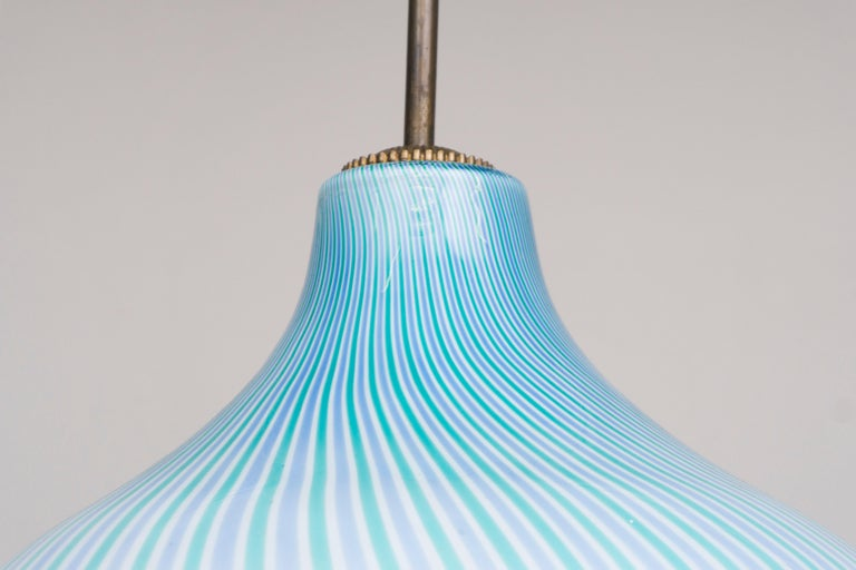 Glass Wall Lamp by Venini / Massimo Vignelli, 1950 For Sale