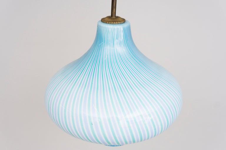 Wall Lamp by Venini / Massimo Vignelli, 1950 For Sale 1
