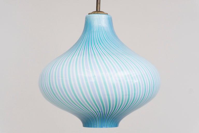Wall Lamp by Venini / Massimo Vignelli, 1950 For Sale 2