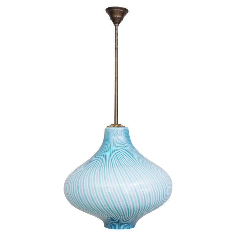 Wall Lamp by Venini / Massimo Vignelli, 1950 For Sale