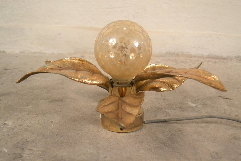 Wall Lamp by Willy Daro for Massive, 1970s In Good Condition For Sale In Mazowieckie, PL