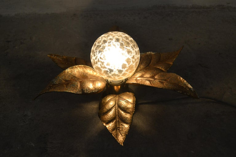Wall Lamp by Willy Daro for Massive, 1970s For Sale 1