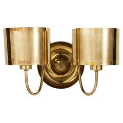 Wall Lamp Model 2565 Designed by Josef Frank for Svenskt Tenn, Sweden, 1950's