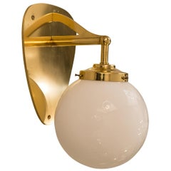 Brass Wall Light by Hermann Czech Palais Schwarzenberg Vienna, Re-Edition
