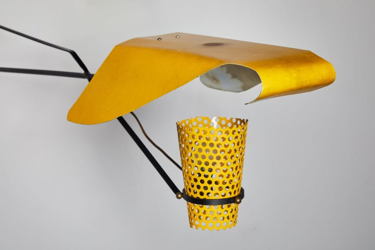 Mid-20th Century Wall Light By Jacques Biny For Sale