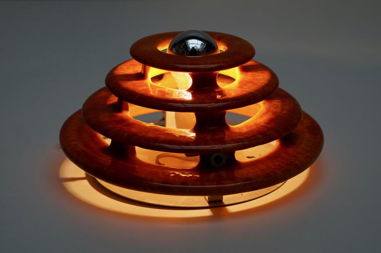 20th Century Wall Light or Flush Mount in Ceramic For Sale