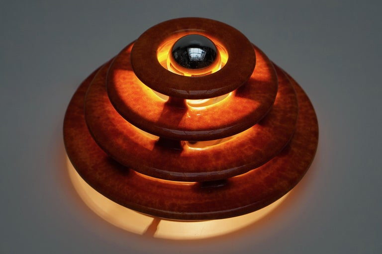 Wall Light or Flush Mount in Ceramic For Sale 1