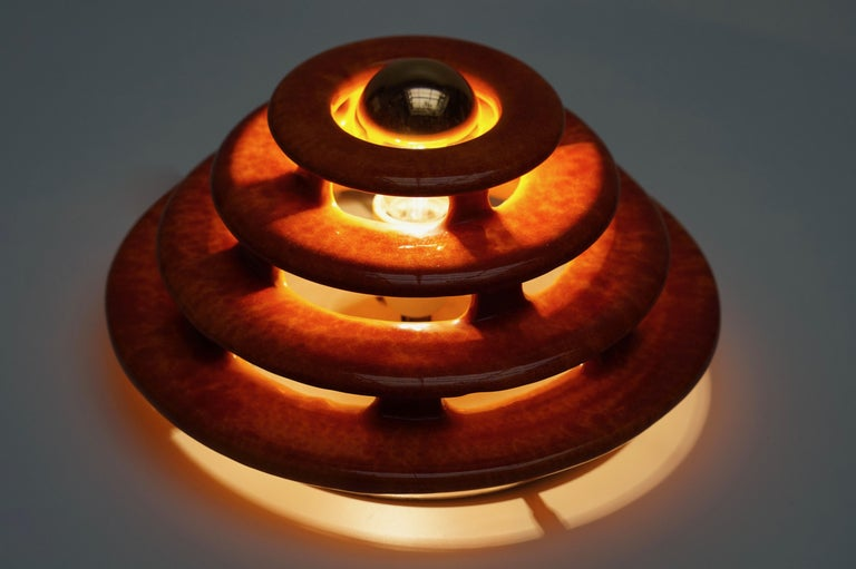 Wall Light or Flush Mount in Ceramic For Sale 2