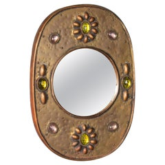 Wall Metal Mirror