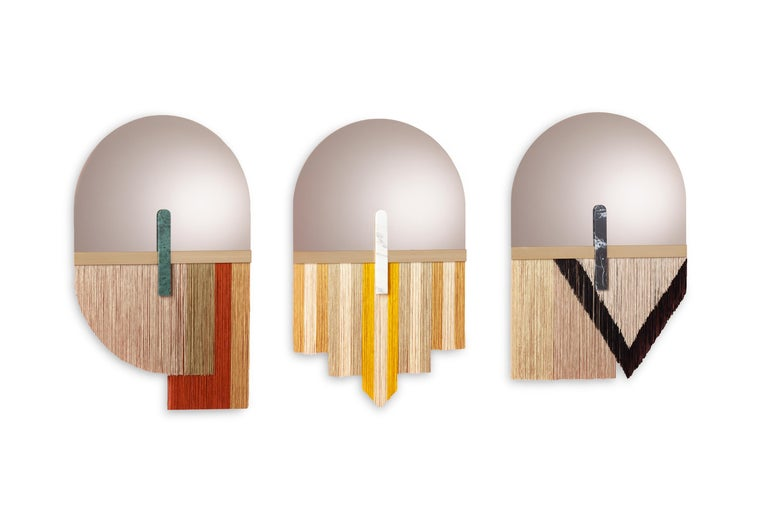 Modern Wall Mirror by Dooq For Sale