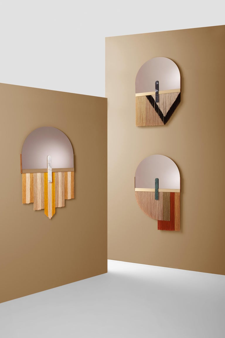 Contemporary Wall Mirror by Dooq For Sale