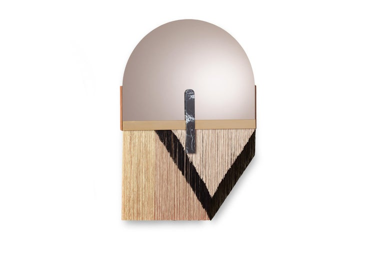 Marble Wall Mirror by Dooq For Sale