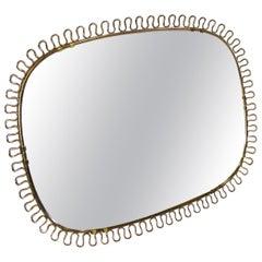 Wall Mirror by Josef Frank for Svenskt Tenn, 1950s