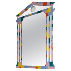 Wall Mirror by Nanda Vigo and Alessandro Mendini, Italy, 1990s